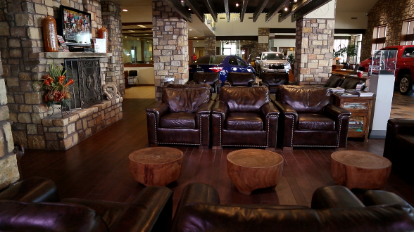 Automotive Dealership Showroom