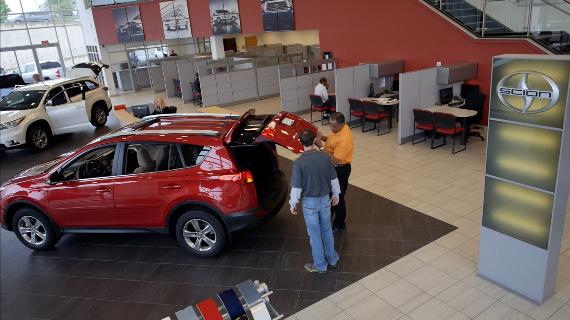 Automotive Dealership Showroom