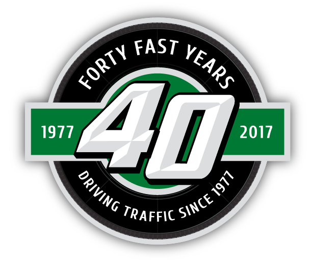 40 Fast Years Logo
