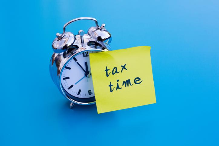 tax time blues
